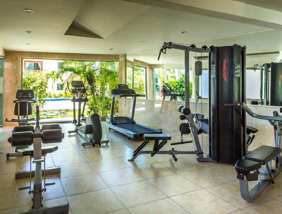 Vacation and Rentals with Gym Service in Playa del Carmen
